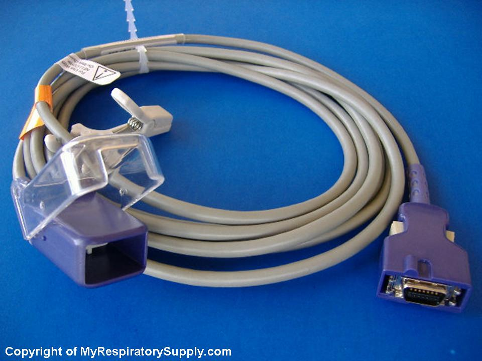 Nellcor Compatible SpO2 Adapter Cable DOC-10